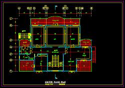 نقشه معماری ویلایی دوبلكس جدید