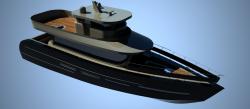 مدل قایق در راینو