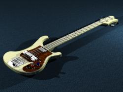 مدل آماده گیتار بیس