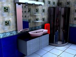 طراحی حمام شیک