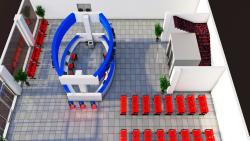 طراحی قسمت پذیرش بیمارستان