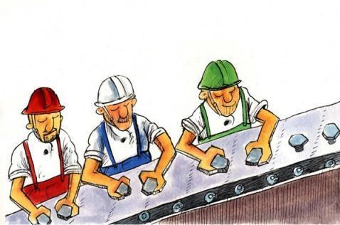 مقاله بررسی سازه ها و راههای ارتقای اثر بخشی نیروی کار